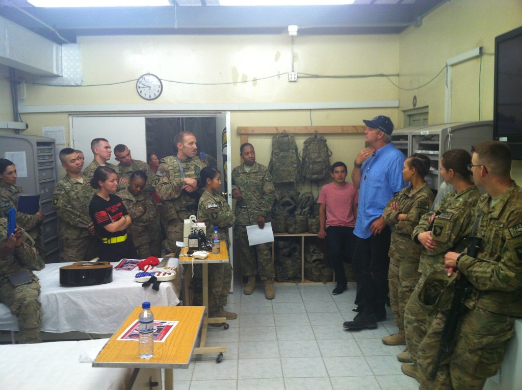 Mini-Showtime in the Emergency Room at Jalalabad, Afghanistan