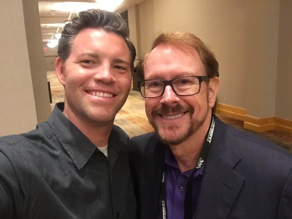 Hanging out with Hall of Fame Speaker, Daniel Burrus, NSA July 2016