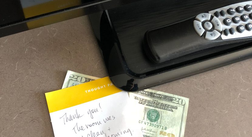 Do You Leave a Tip at the Hotel?