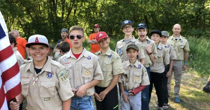 Scout Camp & Your Work Team